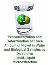 Preconcentration and Determination of Trace Amount of Nickel in Water and Biological Samples by Dispersive Liquid–Liquid Microextraction