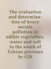 The evaluation and determination of heavy metals pollution in edible vegetables, water and soil in the south of Tehran province by GIS